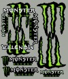 Monster Energy sada polepů