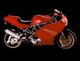 Ducati 900 Supersport červená