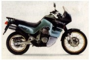 XL 600 V Transalp model 1993 zelená